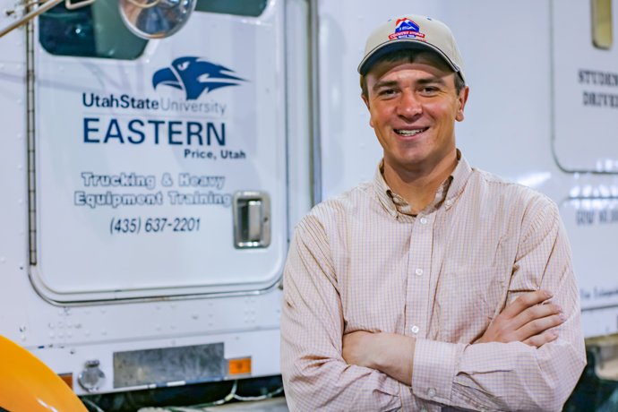 Hauling Your Food and Building Your Roads: USU Eastern Training Helps Fill Jobs that Keep the Country Running