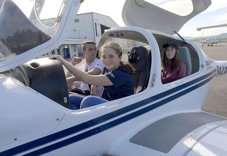 Teens, preteens copilot planes as Girls Aviation Program wraps up